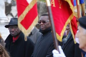 Commémoration au cimetière de Chasselay le 11 novembre 2012