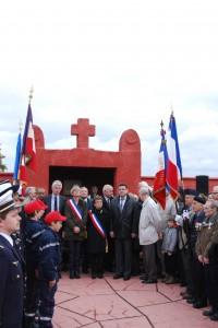 Commémoration au Tata de Chasselay le 11 novembre 2012