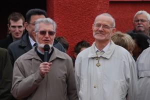 Prière des prêtres à la commémoration au Tata de Chasselay le 11 novembre 2012