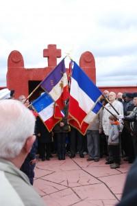 Commémoration au Tata africain de Chasselay le 11 novembre 2012
