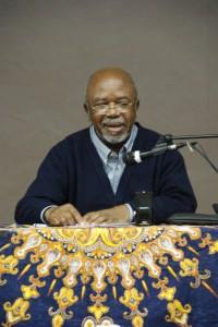 Conférence du professeur Elikia M'BOKOLO à Chasselay le 11 novembre 2012