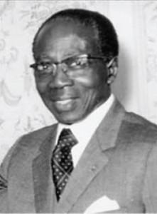 Portrait de Léopold Sédar Senghor