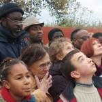 Lever des couleurs au tata de Chasselay le 11 novembre 2008